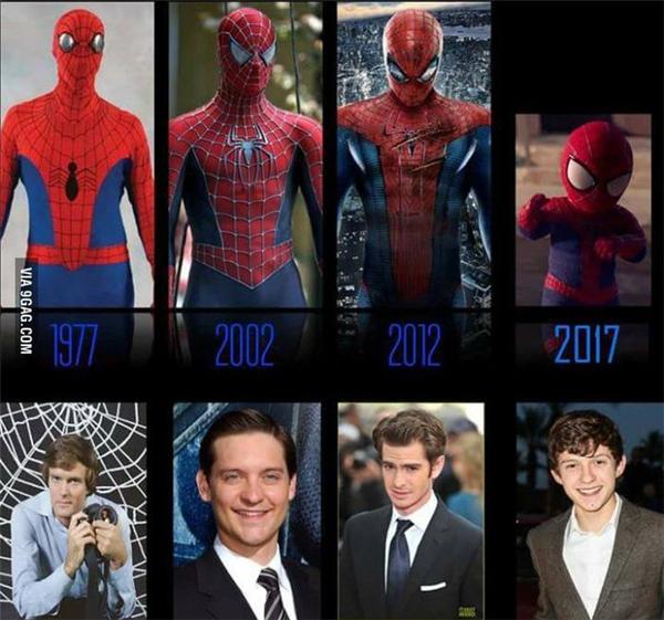 Tom là diễn viên thứ ba đóng vai Spider-man trong vòng 15 năm qua và là người Anh đầu tiên nhận vai này. Andrew tuy lớn lên ở Anh nhưng sinh ra ở Mỹ