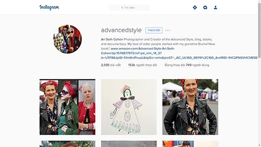 Trang Instagram của anh chàng luôn thu hút sự chú ý của mọi người bởi những tấm hình của những ông bà lão ăn mặc cực chất. (Ảnh: Internet)