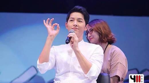 """Toàn cảnh buổi họp fan """"dậy sóng"""" tại Thái Lan của Song Joong Ki"""