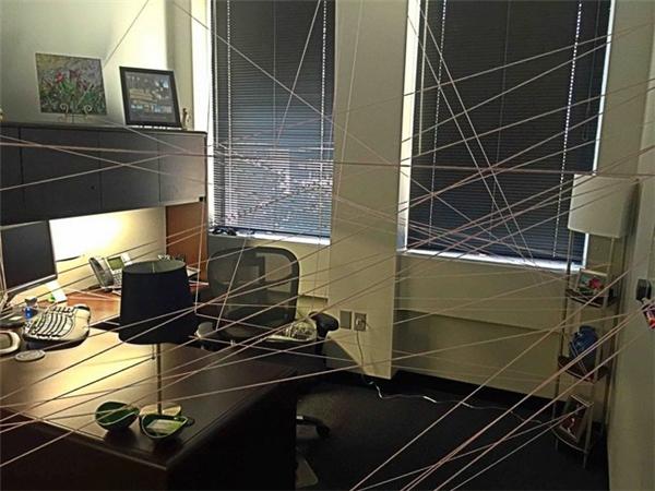 """""""Người nhện""""vừa xuất hiện ở đây sao?"""