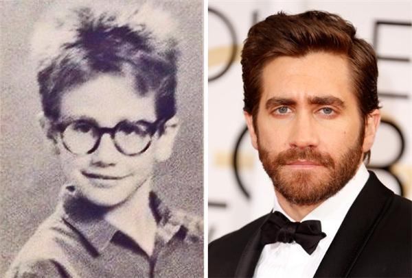 Một trong các nam thần Hollywood lại có vẻ ngoài không mấy nổi bật khi còn nhỏ. (Ảnh: pinterest; Jeff Vespa)