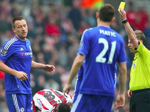 Terry sẽ hết hạn hợp đồng với Chelsea vào cuối mùa giải năm nay