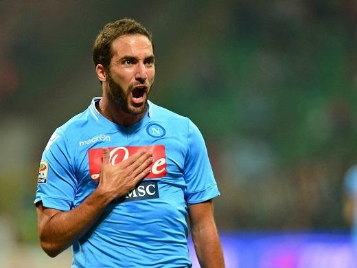 Gonzalo Higuain đang có một hiệu suất ghi bàn khủng khiếp cùng Napoli