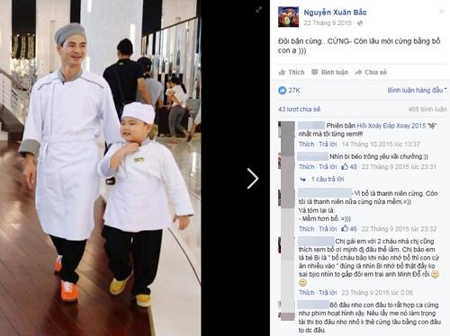 """Chỉ trong phút chốc, Bi béo bỗng trở thành """"thần tượng"""" của công chúng trên mạng xã hội khi những hình ảnh về cậu bé đã lên đến con số """"khủng"""" - gần 27.000 ngườiyêu thích. - Tin sao Viet - Tin tuc sao Viet - Scandal sao Viet - Tin tuc cua Sao - Tin cua Sao"""