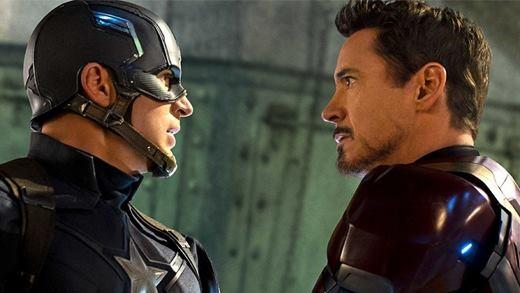 """Cười ra nước mắt với """"chuyện tình ngang trái"""" của Iron Man và Captain America"""