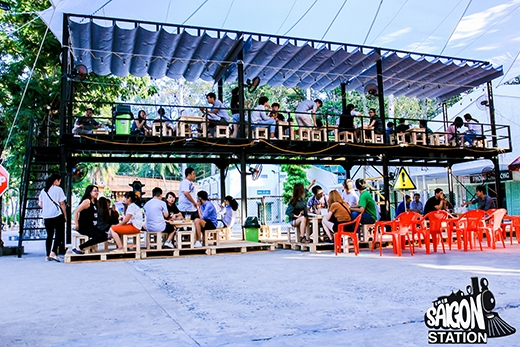 """Cùng """"bung xõa"""" ăn uống mua sắm với chợ đêm Saigon Station lần 2"""