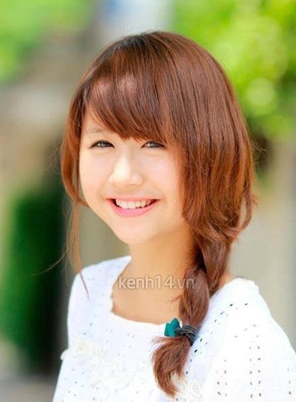 Quỳnh Anh khi còn là một cô nữ sinh nhí nhảnh.