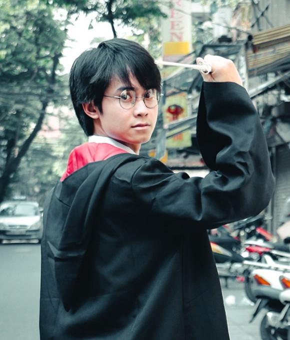 Bộ ảnh Cosplay Harry Potter của Hoàng Văn Thiết.