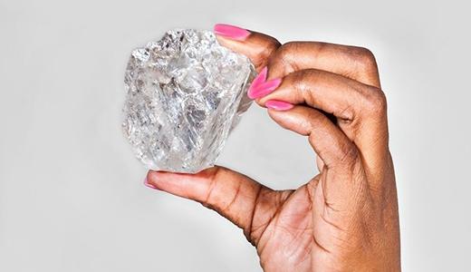 Viên kim cương thô đắt nhất thế giới. (Ảnh: Internet)