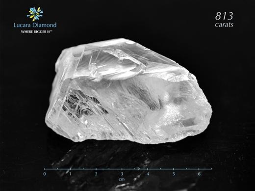 """Viên """"Constellation"""" nặng tới 813 carat. (Ảnh: Internet)"""
