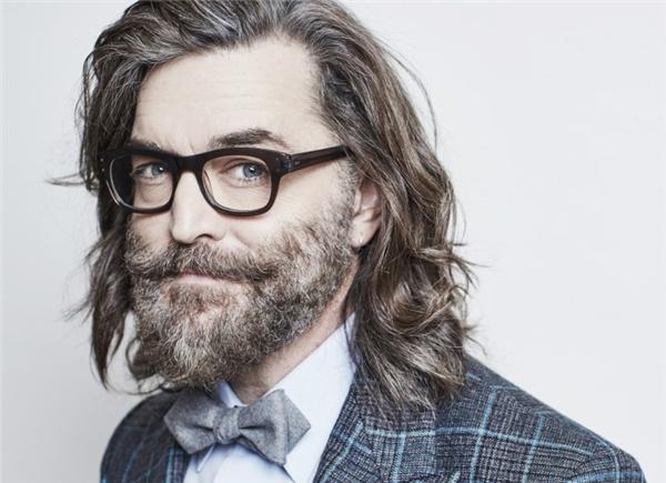 """Râu tóc tự do thể hiệnphong cách """"chất chơi"""" khác người.(Ảnh: Internet)"""