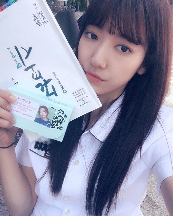 Tạo hình mới lạ của Park Shin Hye