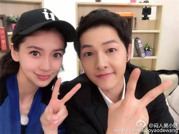 AngelaBaby chê Song Joong Ki không đẹp trai bằng Huỳnh Hiểu Minh