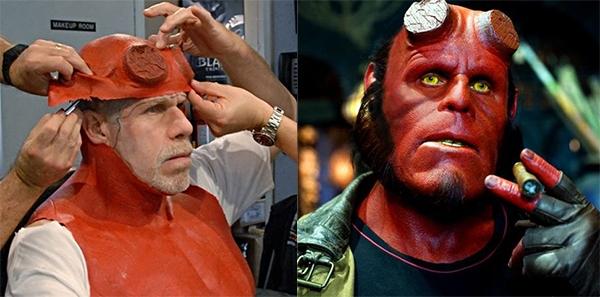 Hầu hếtphim của Guillermo Del Toro đều sử dụng cách thức hóa trang này.(Ảnh: Internet)