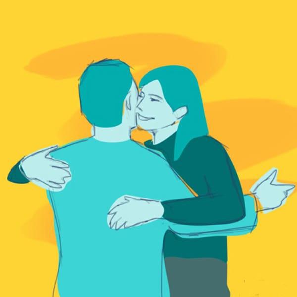 Nhìn cách ôm, 'bắt bài' tình yêu của bạn