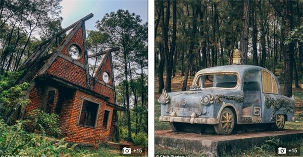 Những bức ảnh về công viên bỏ hoang tại Việt Nam liên tục xuất hiện trên các trang mạng xã hội.