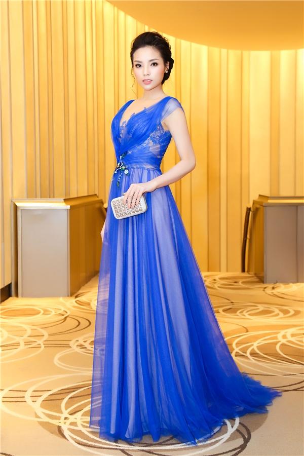 """Luôn gắn liền với những sự kiện lớn và các thương hiệu hàng đầu, Kỳ Duyên hiện đang trên đà trở thành""""nữ hoàng quảng cáo"""" mới của showbiz Việt. - Tin sao Viet - Tin tuc sao Viet - Scandal sao Viet - Tin tuc cua Sao - Tin cua Sao"""