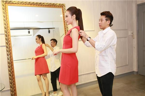 """Theo tiết lộ từ phía cô, stylist Hoàng Ku sẽ là người giúp nữ diễn viên """"tỏa sáng"""" tại sự kiện. - Tin sao Viet - Tin tuc sao Viet - Scandal sao Viet - Tin tuc cua Sao - Tin cua Sao"""