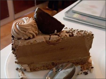 Bên trong bánh kem lạnh có điều kì diệu. (Ảnh: Internet)