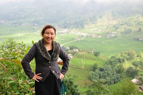 Bằng nghị lực,chị Su đã thành công trên chính quê hương của mình. (Ảnh: Internet)
