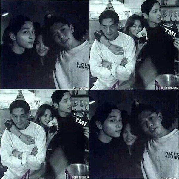 """Song Joong Ki tiếp tục """"úp mở"""" mối quan hệ thân thiết với Song Hye Kyo"""
