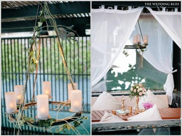 Đám cưới siêu xa hoa bên bờ biển của cặp đôi tỉ phú Thái Lan