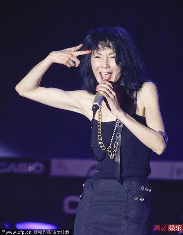 Trương Mạn Ngọc trong concert nhiều tranh cãi của mình
