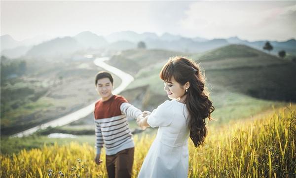 Đồi chè Mộc Châu được mệnh danh là một trong những thiên đường tình yêu của miềnBắc.(Ảnh: Internet)
