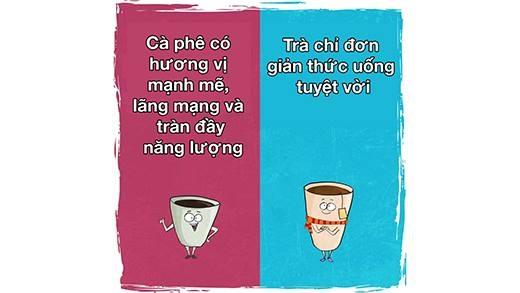 Khám phá tính cách thật sự của bản thân từ trà và cà phê