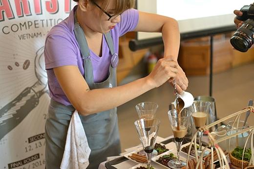 Cuộc thi Barista và con đường chinh phục trà & cà phê