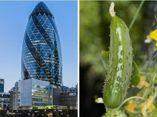Một tòa nhà chọc trời tại London.