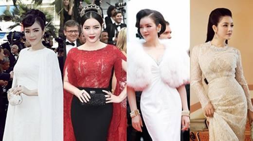"""Lý Nhã Kỳ và những lần gây """"bão"""" trên thảm đỏ Cannes"""