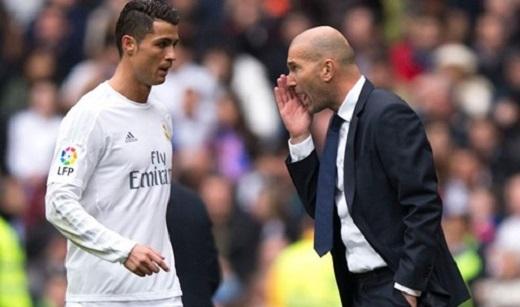 Từ khi HLV Zidane lên nắm quyền ở Real, Ronaldo tìm lại niềm cảm hứng