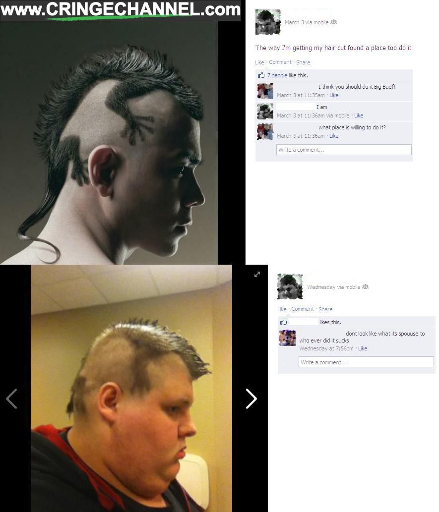 """Qua đôi bàn tay """"tài hoa"""" của người thợ cắt tóc, kỳ nhông đã biến thành con gì không biết!(Ảnh: Internet)"""