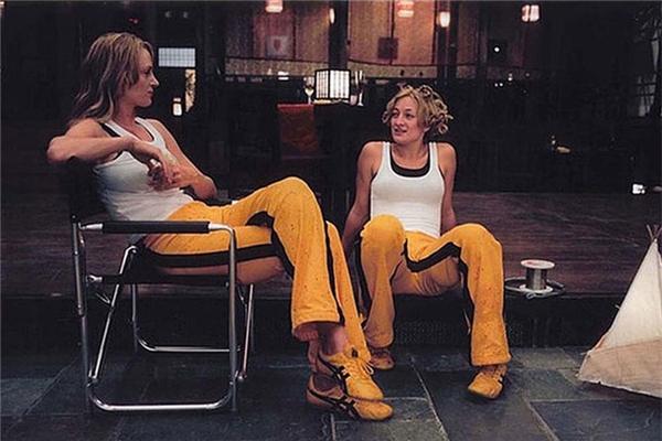 Uma Thurman (trái) & Zoe Bell, Kill Bill