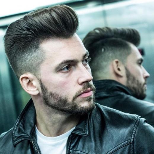 Pompadour sóng sẽ là một trong những cách tốt nhất để khoe tóc cực dày của bạn. (Ảnh: Internet)