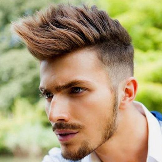 """Đây sẽ kiểu tóc được nhiều bạn nam ưa chuộng trong năm 2016 với """"phiên bản"""" cạo sát hai bên.(Ảnh: Internet)"""