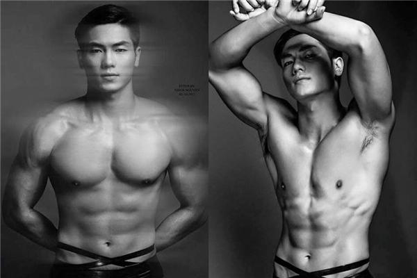 Lê Văn Tiến(sinh năm 1991) hiện sinh sống và làm việc tại TP HCM được biết đến như một chàng trai có thân hình hoàn hảo sau thời gian dài tập gym.