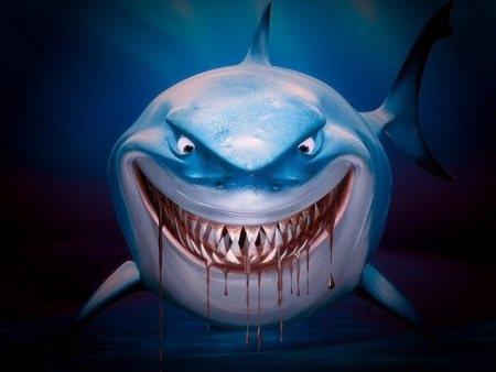 """Tôi là cá mập và tôi không săn lùng bạn vào """"ngày dâu"""" đâu.(Ảnh: Internet)"""