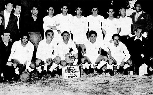 Real Madrid thống trị trong những năm cuối thập niên 50. Ảnh: Internet.