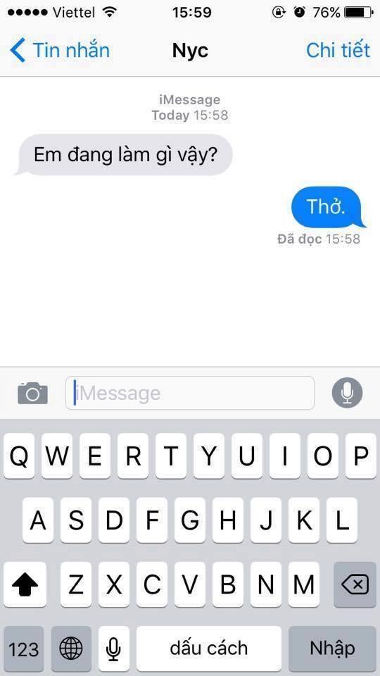 Loạt tin nhắn phũ không tưởng khi người yêu cũ hỏi thăm