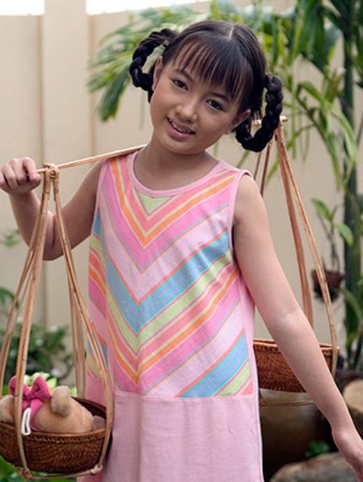 Xuân Nghi được nhiều thính giả biết đến khi chỉ mới 5 tuổi.(Ảnh: Internet)