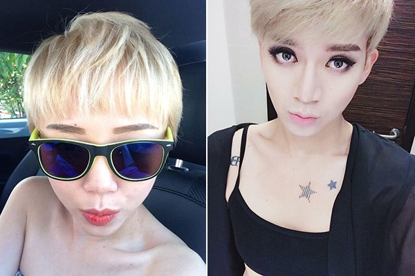 Biểu cảm gương mặt sexy của Tóc Tiên cũng được BB Trần lột tả một cách chân thực.
