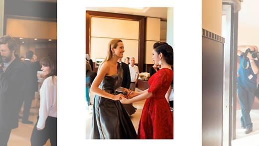 """Choáng ngợp trước vẻ đẹp của """"Bà đầm đỏ"""" Lý Nhã Kỳ tại Cannes"""