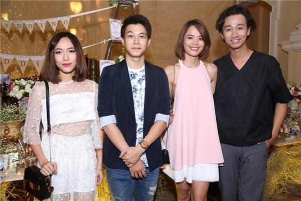 Từ trái qua: Diệu Nhi, Anh Tú, Trần Hiền, Hải Triều - Tin sao Viet - Tin tuc sao Viet - Scandal sao Viet - Tin tuc cua Sao - Tin cua Sao