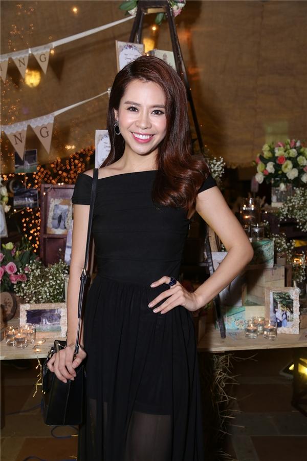 Nữ diễn viên xinh đẹp Vũ Ngọc Ánh lộng lẫy trong bộ váy đen - Tin sao Viet - Tin tuc sao Viet - Scandal sao Viet - Tin tuc cua Sao - Tin cua Sao