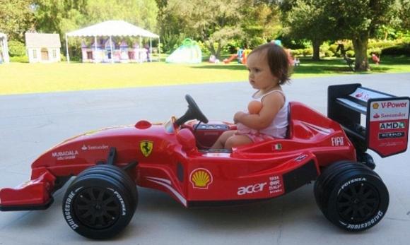 Xe đua dành cho Sophia.