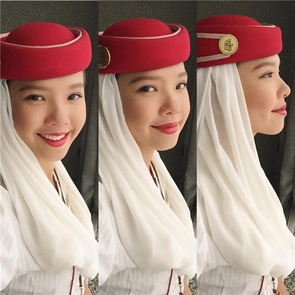 Liêu xiêu vì vẻ đẹp của mĩ nhân Việt là tiếp viên hàng không quốc tế