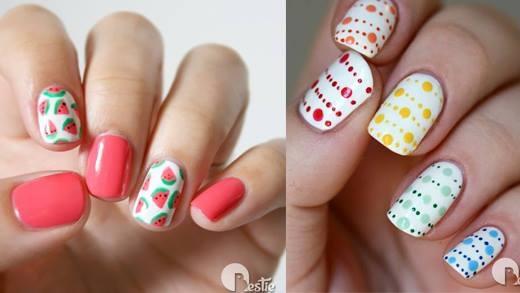 Gợi ý những kiểu nail xinh xắn cho mùa hè