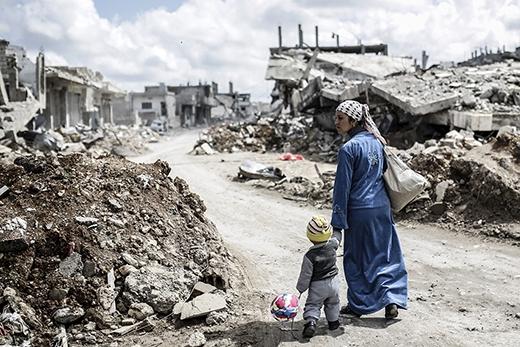 Châu Âu sẽ chỉ còn là một vùng đất đổ nát bị người Hồi giáo thống trị. (Ảnh: Internet)